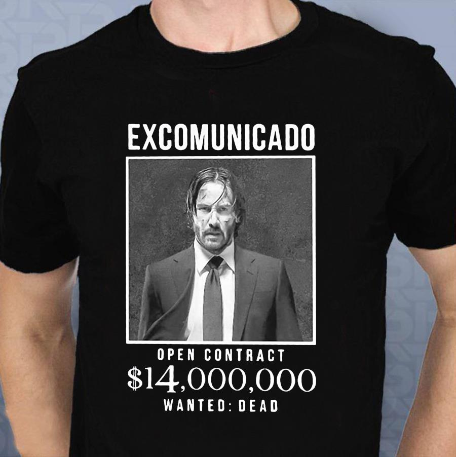 John Wick excommunicado open contract 14 million dollar t-shirt
