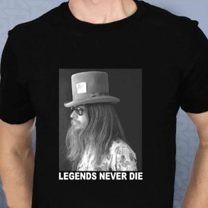 Leon Russell legends Never Die Music Lovely t-shirt