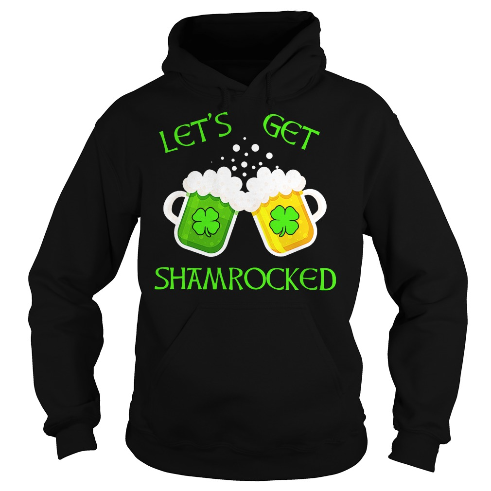Let's get Shamrocked Patrick day shirt