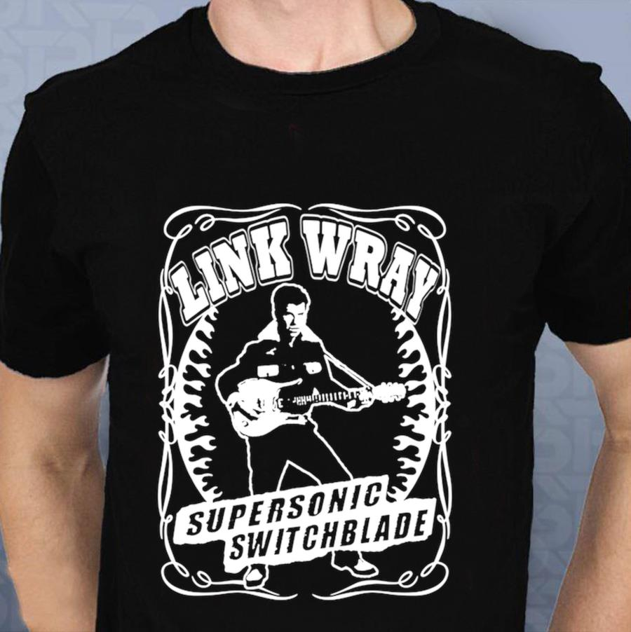 Link Wray Supersonic Switchblade legend t-shirt