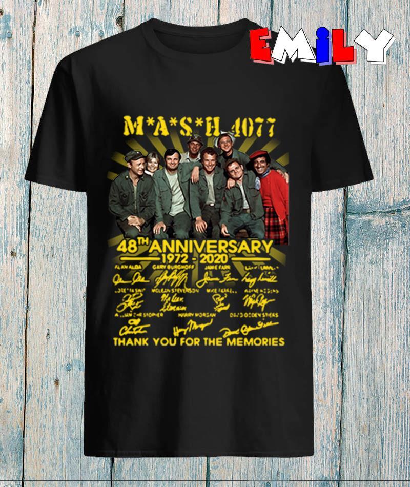 Mash 4077 48th anniversary 1972-2020 signatures