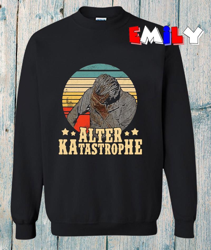 Michael Manousakis Alter Katastrophe vintage sweatshirt