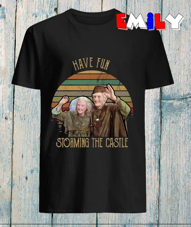Princess Bride have fun storming the castle vintage