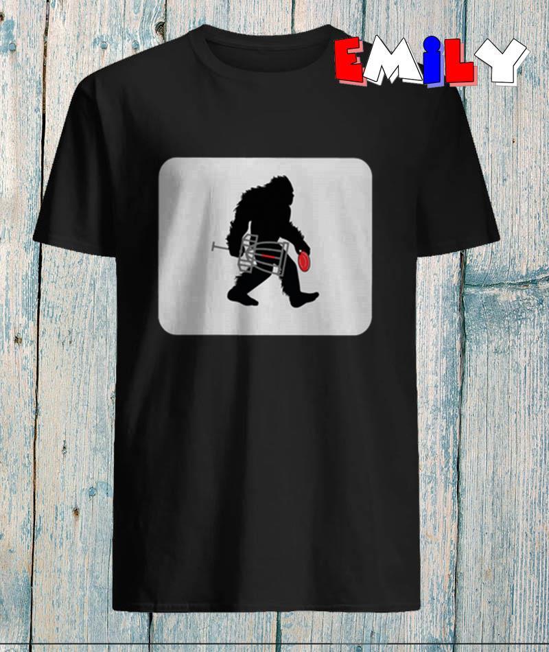 Sasquatch Disc Golf Bigfoot t-shirt