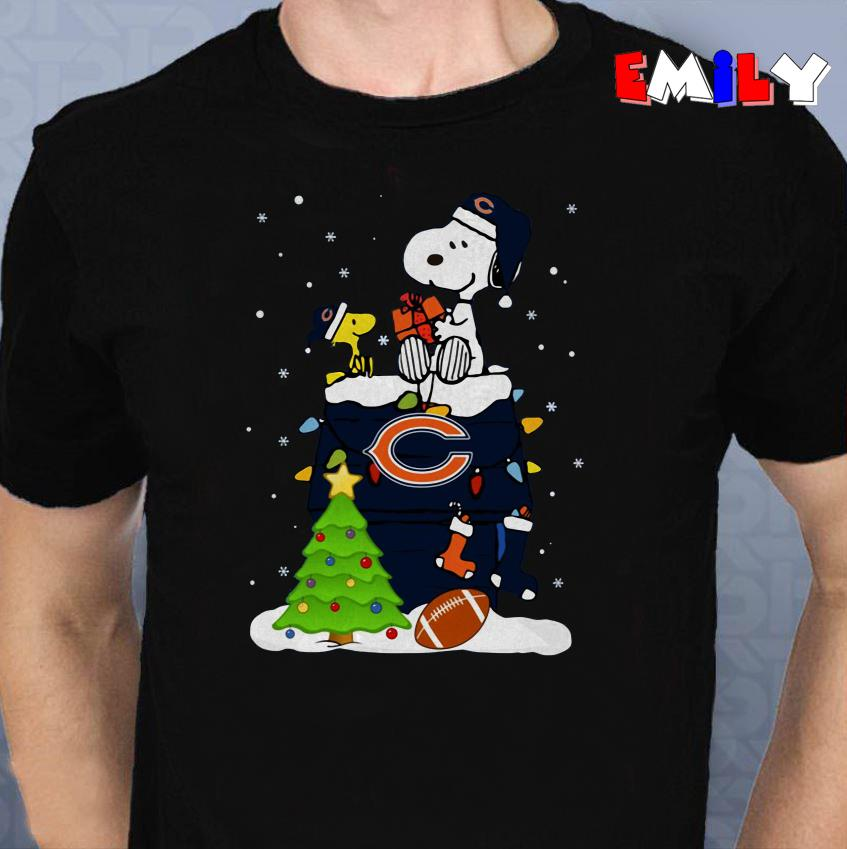 Snoopy merry christmas Bears shirt