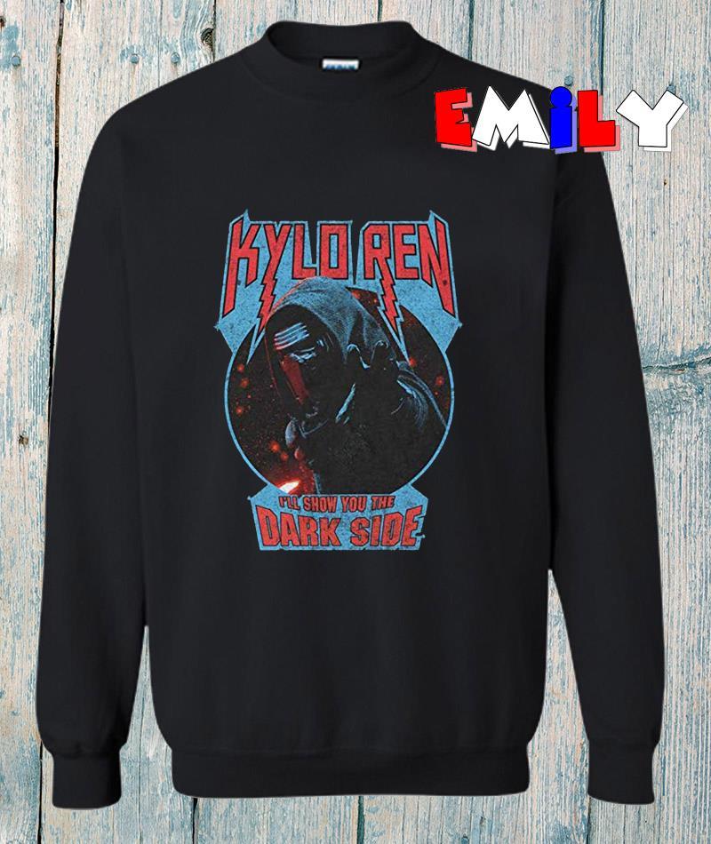 Star Wars The Force Awakens Kylo Ren Dark Side sweatshirt