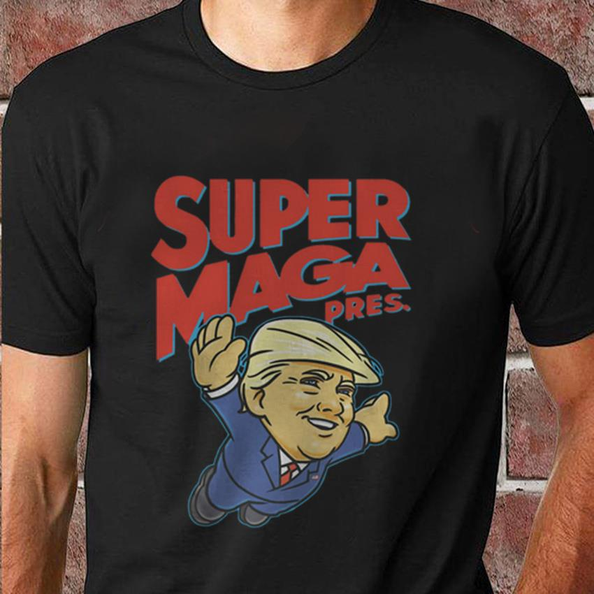 Trump Super Maga president t-shirt