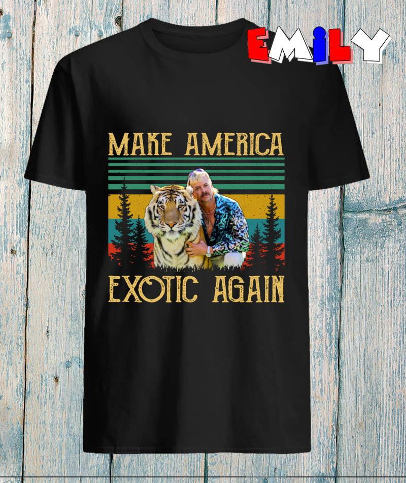 Vintage retro Joe Exotic make America Exotic again