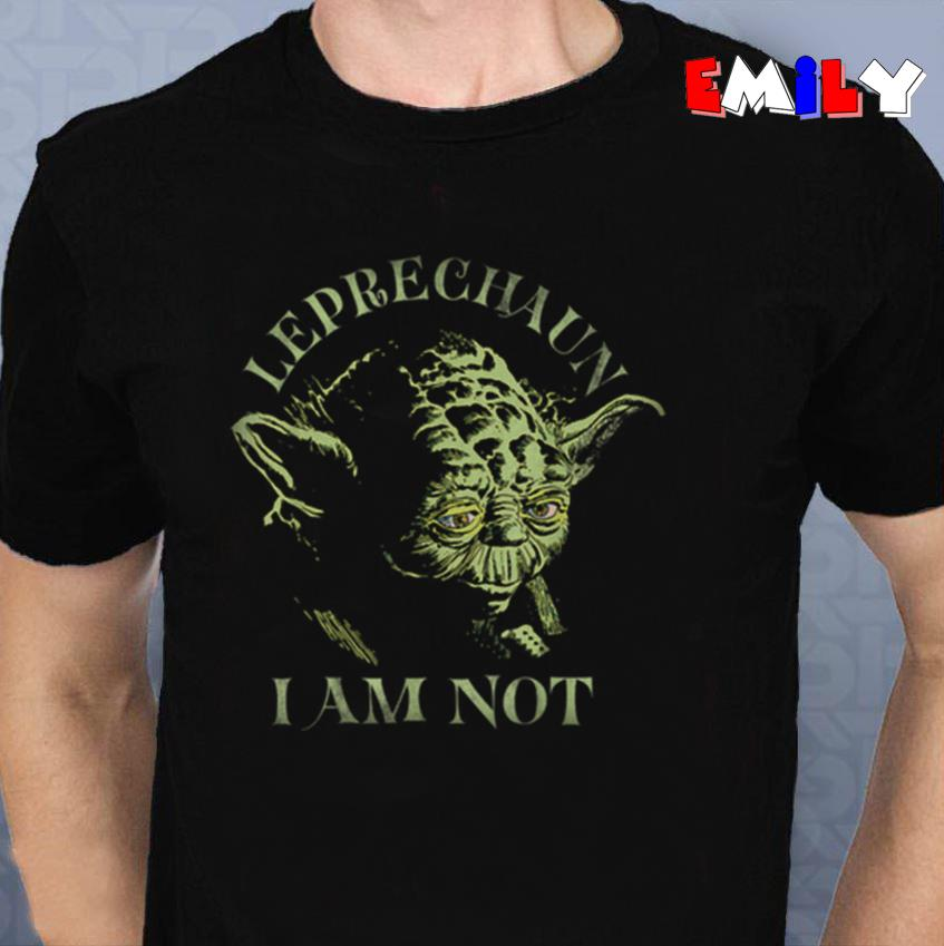 Yoda Leprechaun I am not St Patricks Day unisex-t-shirt